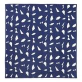 ferm LIVING Cut Blanket - Blue - 235x245 cm