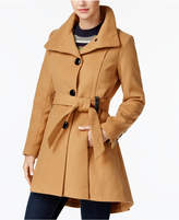Madden-Girl Juniors' Drama Skirted Coat, A Macy's Exclusive