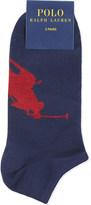 Polo Ralph Lauren Big Pony trainer socks pack of three