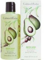 Crabtree & Evelyn Avocado, Basil & Olive Revitalising Bath & Shower Gel (250ml)