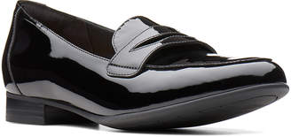 Clarks Women's Loafers Black - Black Un Blush Go Patent Leather Loafer - Women
