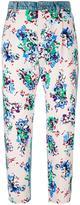 MSGM floral print jeans