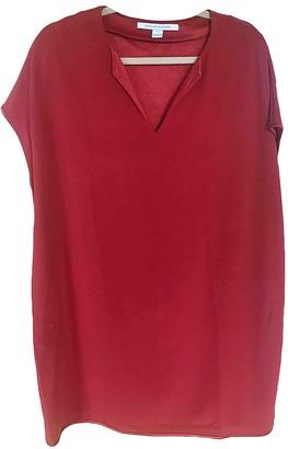 Diane von Furstenberg Red Synthetic Dresses