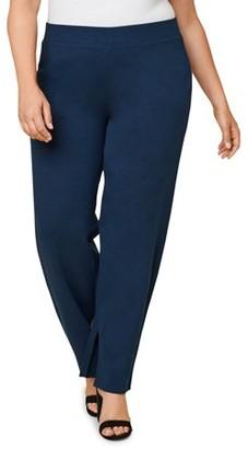 Seek No Further Womens Plus Size Trouser Dress Pants