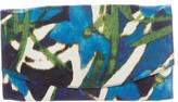 Dries Van Noten Silk Printed Clutch
