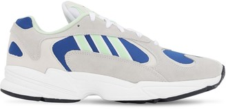 adidas Ebe29 Yung Mesh & Suede Sneakers