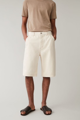 Cos Organic Cotton Denim Shorts