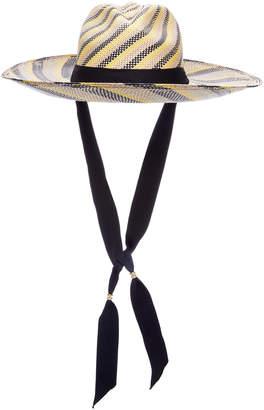 Sensi Studio Swirl Hat With Adjustable Ribbon