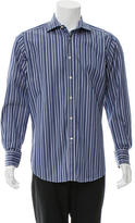 Etro Striped Button-Up Shirt