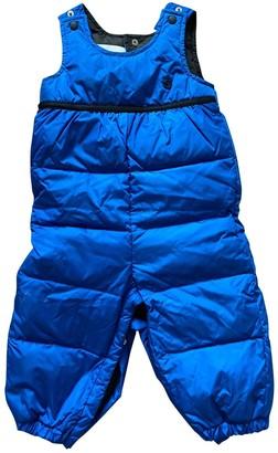 Gucci Blue Synthetic Jackets & Coats