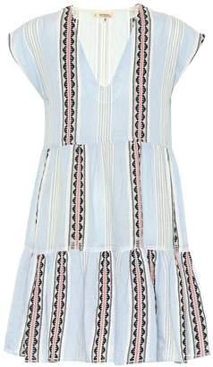 Lemlem Riban striped cotton-blend minidress