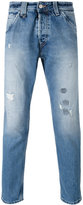 Cycle distressed cropped jeans - men - Cotton - 32