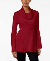 Style&Co. Style & Co Petite Bell-Sleeve Babydoll Sweater, Only at Macy's