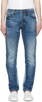 Valentino Blue Colorblocked Jeans
