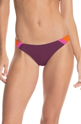 Maaji Vintage Grape Flirt Reversible Bikini Bottoms