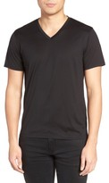 Theory Men's Silk & Cotton V-Neck T-Shirt