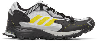 adidas White and Black Response Hoverturf GF6100A Sneakers