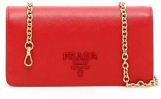 Prada Saffiano Mini Shoulder Bag