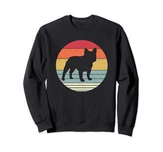 Breed Retro French Bulldog Dog Vintage Style Dogs Gift Sweatshirt