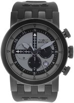 Invicta Men's DNA Chronograph 100m Silicone Stainless Steel Black Watch 25049