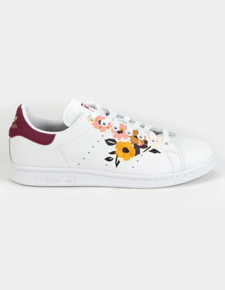 adidas Stan Smith Floral Womens Shoes