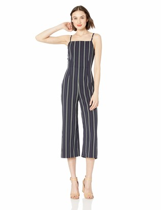Cupcakes And Cashmere Women's Avery Jumpsuit with Ruffle Hem