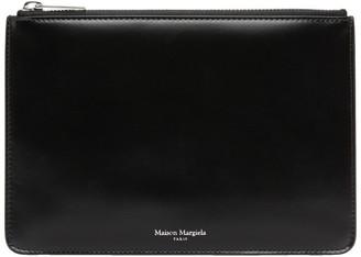 Maison Margiela Black Leather Small Pouch