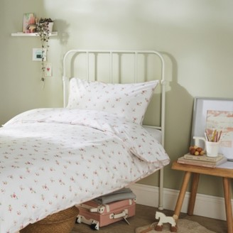 The White Company Rose Bed Linen Set, Multi, Cot Bed