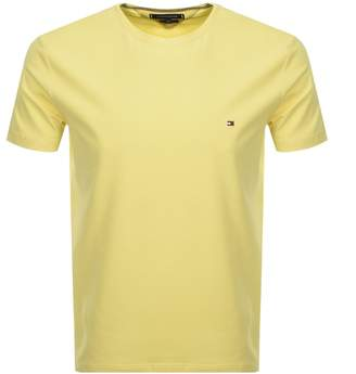 Tommy Hilfiger Logo T Shirt Yellow