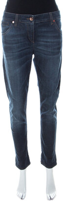 Brunello Cucinelli Indigo Light Wash Denim Skinny Fit Jeans M