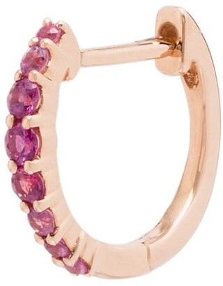 Roxanne First 14kt Rose Gold Hoop Single Earring