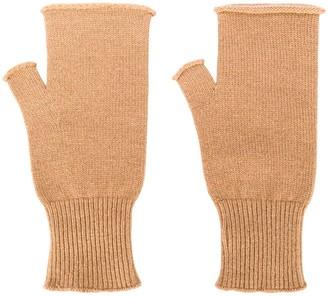Maison Margiela Fingerless Wool Mittens