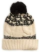 BP Women's Marled Knit Beanie - Ivory