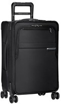 Briggs & Riley Men's 'Baseline' Domestic Expandable Rolling Carry-On - Black