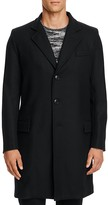 Gloverall Chesterfield Wool Cashmere Blend Coat