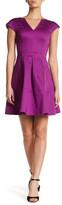 Nanette Lepore Backless Fit & Flare Dress