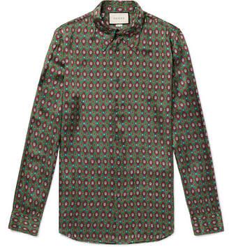 Gucci Printed Twill Shirt