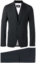 DSQUARED2 London three-piece suit - men - Cotton/Polyester/Spandex/Elastane/Virgin Wool - 46