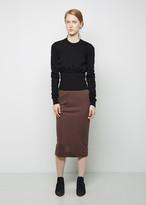 Rick Owens Lilies Overlap Skirt