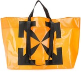 Off-White Off White Arrows print commercial tote