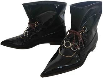 J.W.Anderson \N Black Patent leather Ankle boots