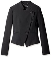 Karen Millen Women's Fluid Soft Tailored Jacket