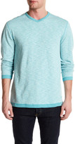 Tommy Bahama Seaglass Reversible V-Neck Pullover