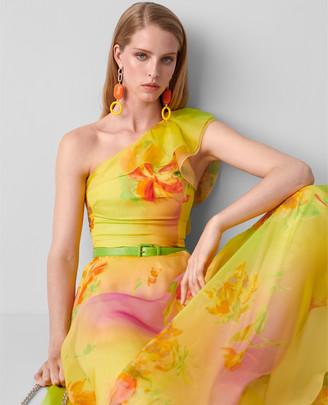 Ralph Lauren Makalla One-Shoulder Dress