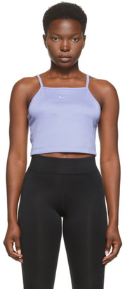 Nike Purple Essential Sportswear Tank Top