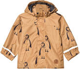 Mini Rodini Brown Edelweiss Jacket
