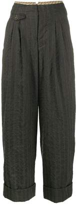 UMA WANG pleated waist trousers