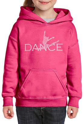 LOS ANGELES POP ART Los Angeles Pop Art Dancer Long Sleeve Sweatshirt Girls