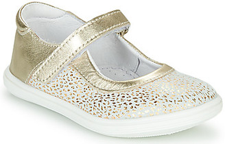 GBB PLACIDA girls's Shoes (Pumps / Ballerinas) in Gold