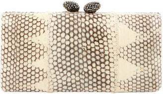 Kotur Beige Leather Clutch bags